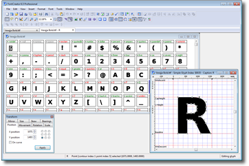 FontCreator screenshot